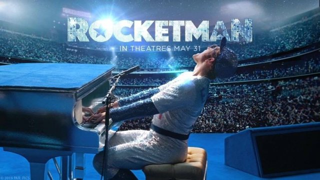 The only way to tell his story is to live his fantasy.Taron Egerton is Elton John in Rocketman 30/5