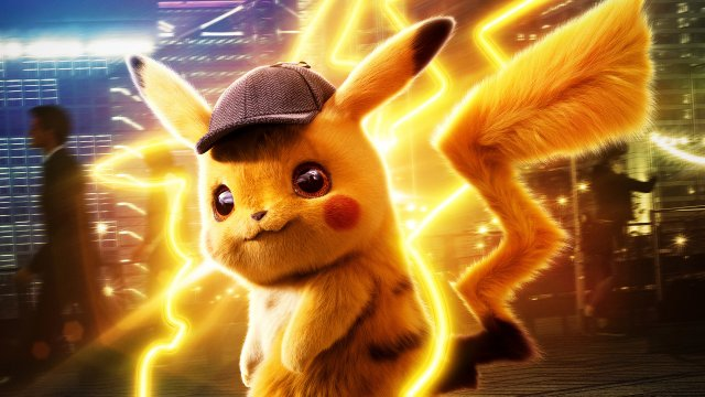 Tim and #DetectivePikachu are on the case. Now playing!