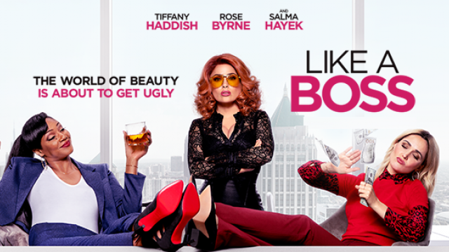 The perfect Girls' Night Out movie is here! LIKE A BOSS Feb 20