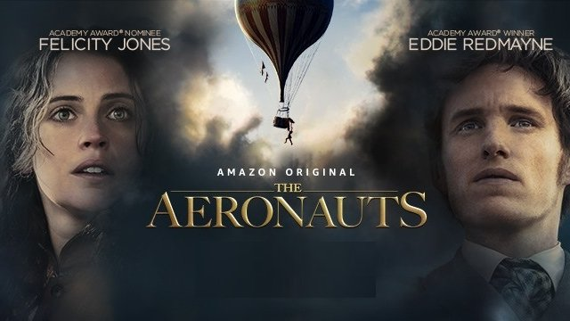 Head to new heights this year with #TheAeronauts (20/2)