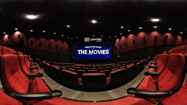 WELCOME BACK TO THE MOVIES